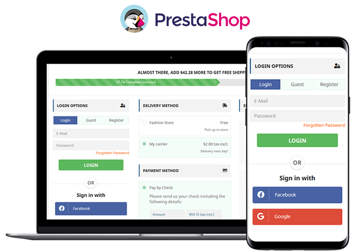PrestaShop One Page Checkout Module