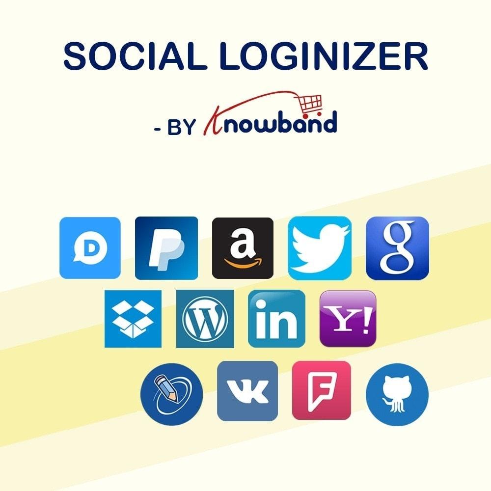 Prestashop Social Loginizer module